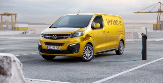 Opel produces the electric Vivaro with 300 km of autonomy